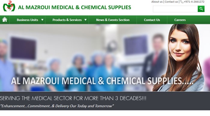 Web Design for Medical firm