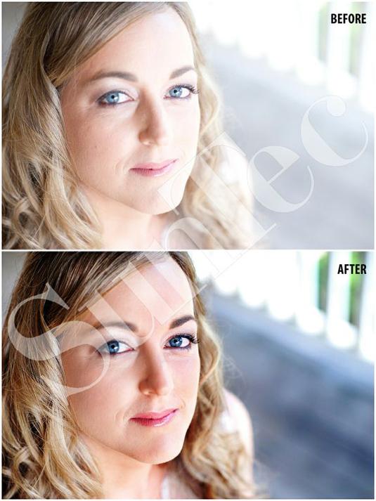 Portrait photo editing services