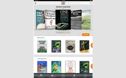 Catalog App for Publishers and Authors