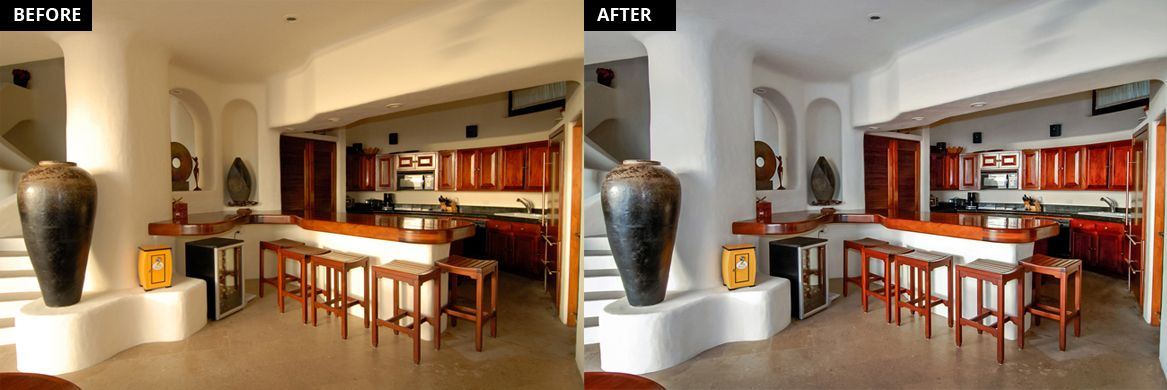 Real Estate Color Cast Removal Services