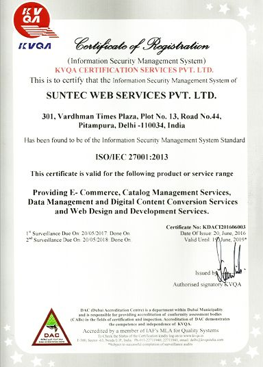 Suntec is iso 27001 certified for its information security management iso 27001 fandeluxe Choice Image