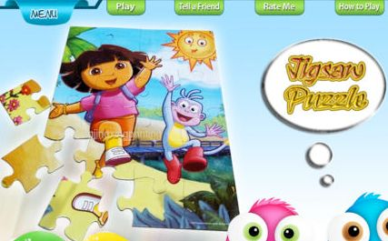 Jigsaw Game: Interactive Kids Game